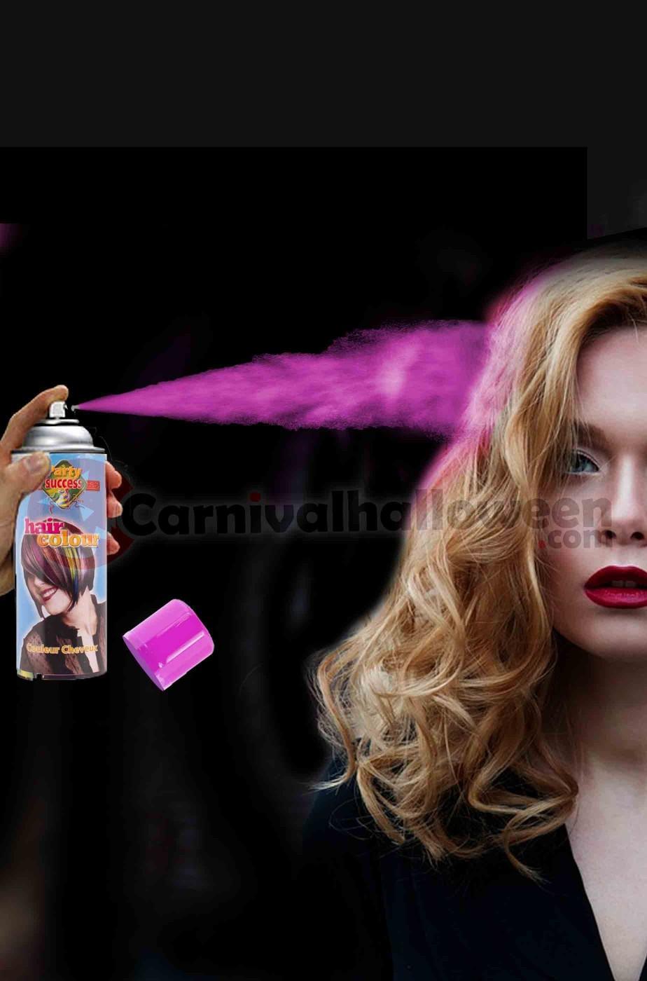Colore per capelli spray lacca colore rosa