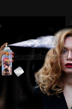 Colore per capelli spray lacca colore argento