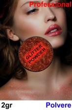 Trucco cialda effetto glitter rosso 2gr