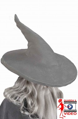 Cappello Cosplay del Mago Gandalf originale de Il Signore Degli Anelli adulto