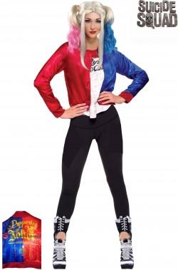 Giacca di Harley Quinn di Suicide Squad come quella di Margot Robbie