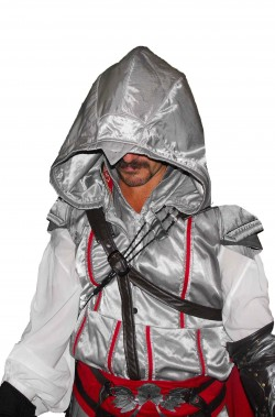 Vestito di Ezio Auditore di Assassin's Creed Ezio Cosplay Edition
