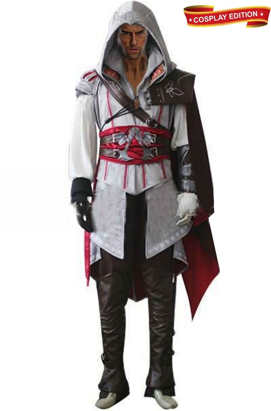 Vestito di Assassin's Creed Ezio Auditore Versione da Cosplay Luccacomics