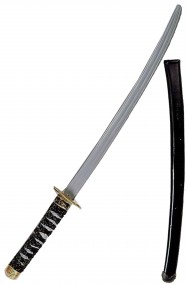 Spada giocattolo katana ninja samurai  circa 70 cm