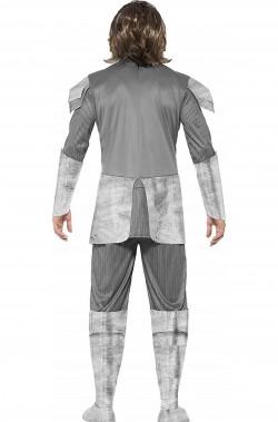 Vestito da cavaliere medievale uomo di carnevale