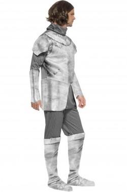 Costume di carnevale fantasy da cavaliere medievale uomo
