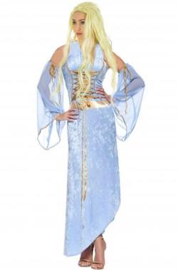 Costume Madre dei Draghi Khaleesi Daenerys Targaryen pacchetto cosplay