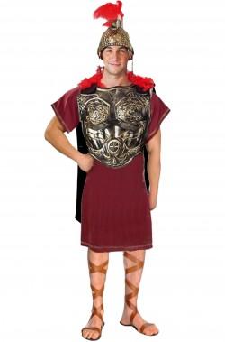 Costume carnevale antico romano completo con armatura bronzo