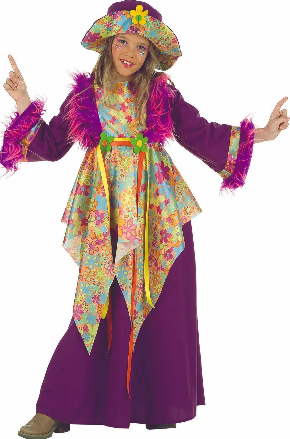 Costume bambina anni 70 Figlia Dei Fiori