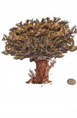 Ambientazione presepe: Sicomoro palestinese piccolo cm 20