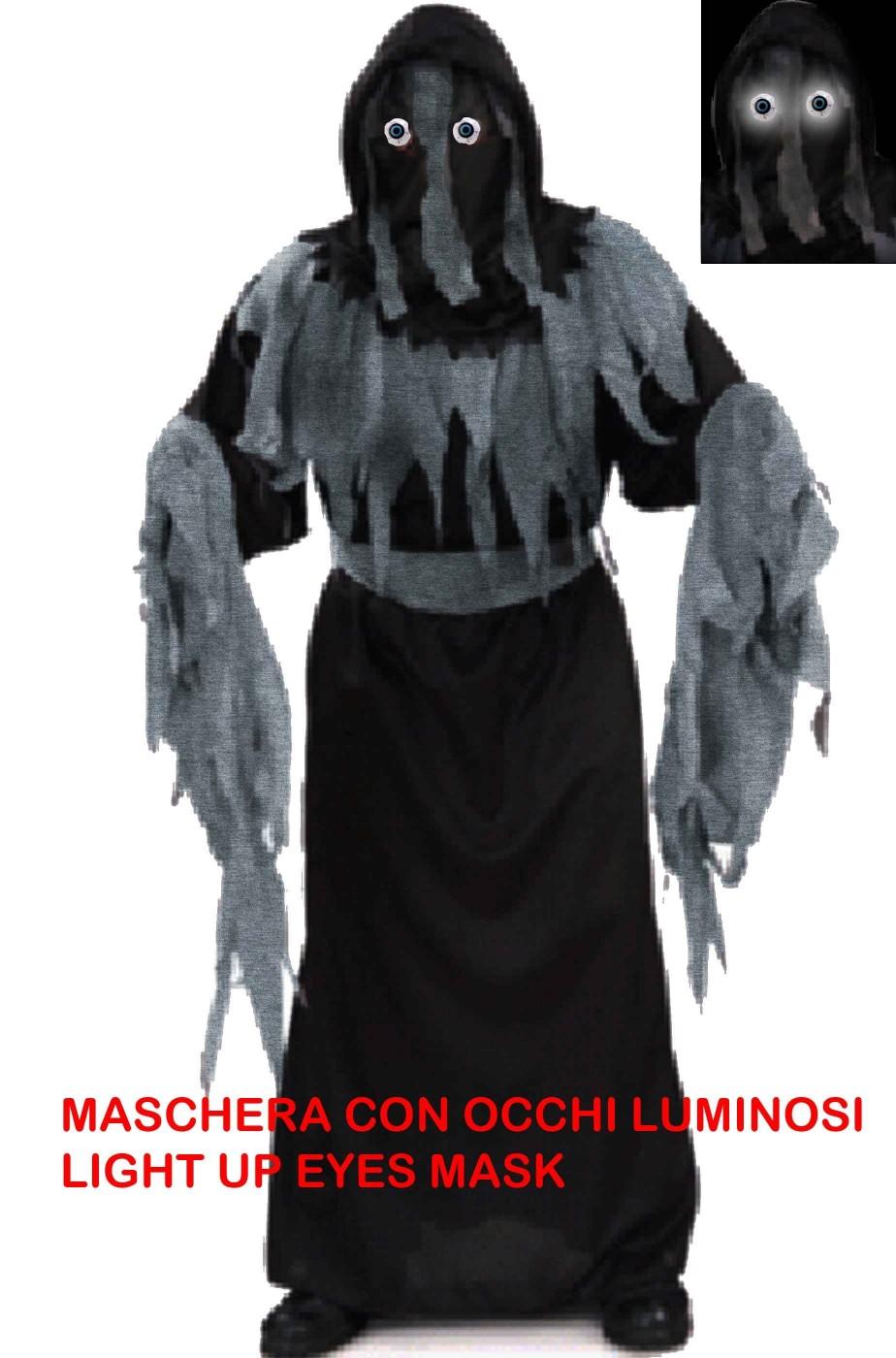 Costume carnevale bambino spirito horror
