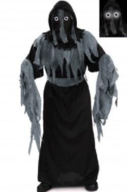 Costume carnevale bambino spirito horror maschera