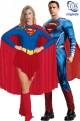 Coppia di costumi Superman e Supergirl