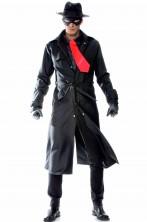Costume di The Spirit adulto cappotto nero