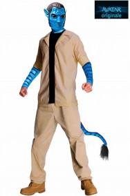 Costume cosplay o carnevale Avatar adulto Jake Sully
