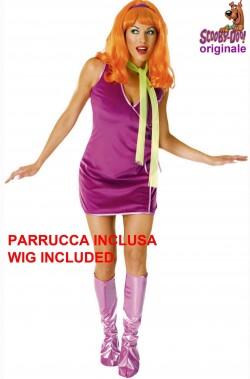Costume donna Dafne dal cartone Scooby Doo