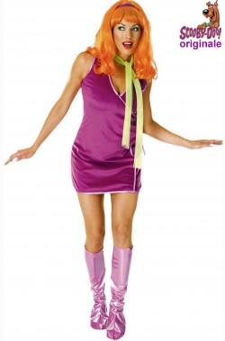 Costume carnevale da donna di Dafne di Scooby Doo