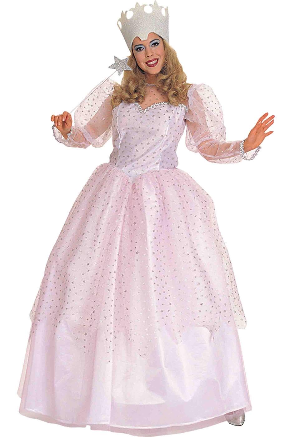Costume donna Regina Rosa Glinda da Il mago di Oz