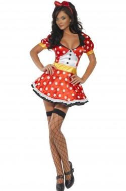 Costume di carnevale Minnie o topolina donna adulta