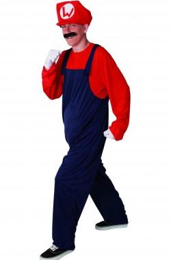 Costume Super idraulico imitazione di supermario