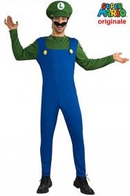 Costume Super Luigi di Supermario bros originale