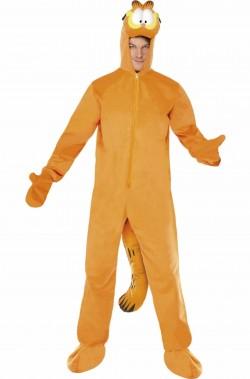 Costume di carnevale da gatto Garfield adulto