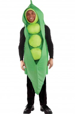 Costume unisex da pisello adulto