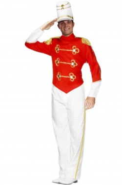 Costume da soldatino di piombo, pifferaio magico schiaccianoci