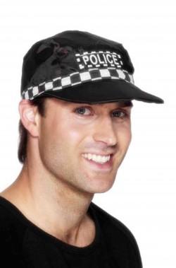Cappello poliziotto inglese con visiera