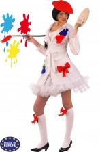 Costume donna Pittrice spiritosa