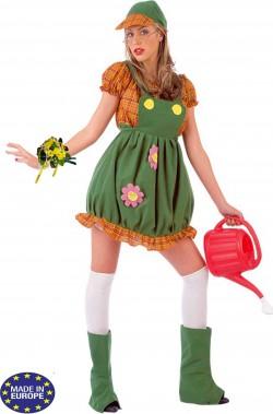 Costume da fiorista donna giardiniera
