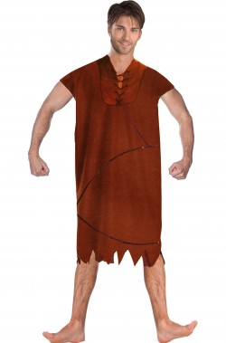 Costume carnevale Barney Rubble originale The Flinstones gli antenati