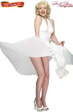 Costume Marilyn Monroe bianco Replica Quando la Moglie e' in Vacanza