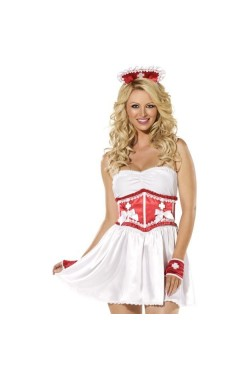 Costume di carnevale infermiera COMPLETA