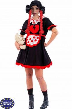 Costume donna bambola Horror