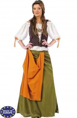 Costume donna locandiera o taverniera pirata zingara
