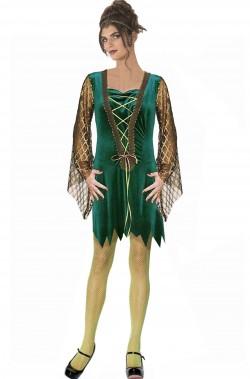 Costume dama medievale rinascimentale donna corto