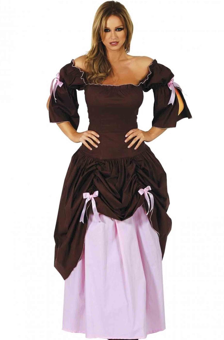 Costume donna dama 700 rinascimentale adulta
