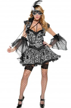Costume dama del 700 Madame Pompadour donna adulta
