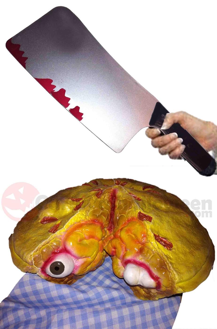 Decorazione Halloween da tavola pasticcio di carne umana di Ms Lovett Sweeney Todd
