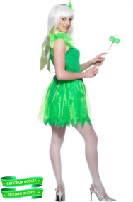 Costume Elfa verde Trilli Campanellino seconda scelta