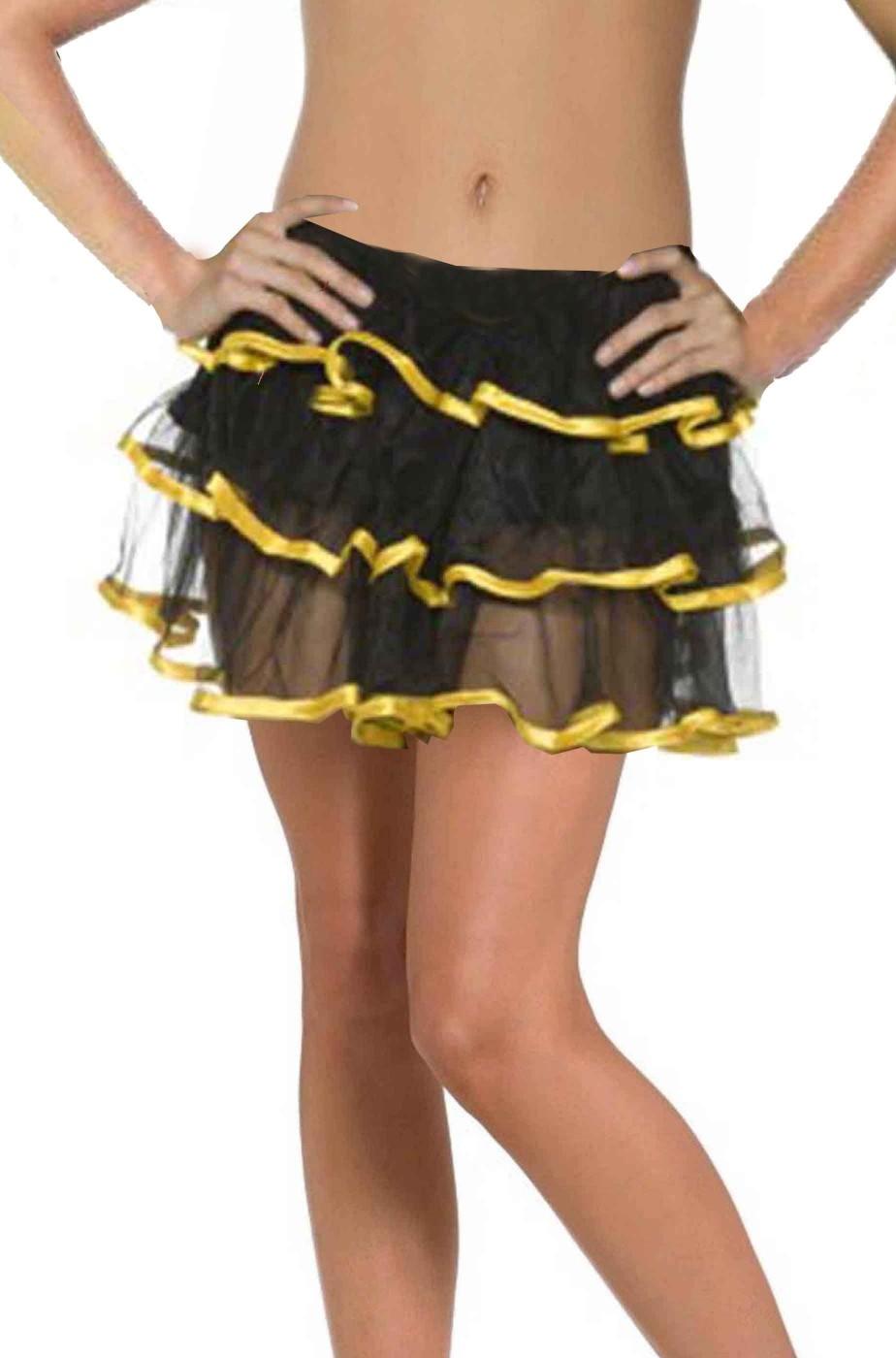 Donna 80s Party Girl Kit Neon Gonna Cerchietto Collana Retrò Costume