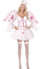 Costume carnevale donna Dea dell'Amore Cupido alta qualita'