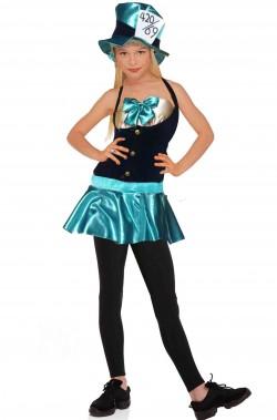 Costume Carnevale da Bambina Cappellaia Matta di Alice