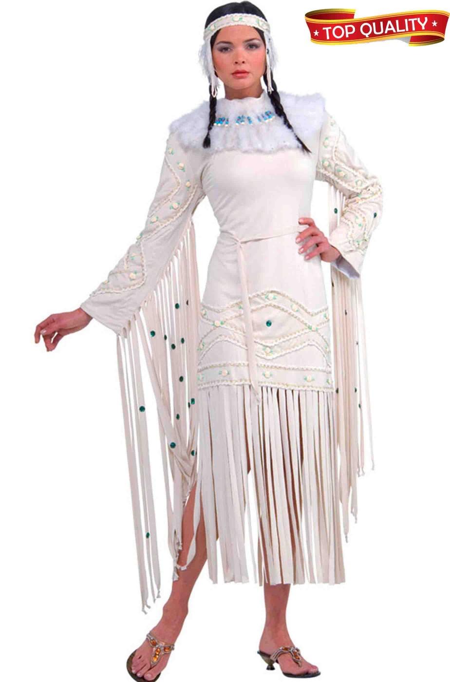 Costume donna indiana da matrimonio Balla coi Lupi