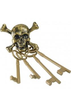 Bone Gioielli Set Accessorio Per Costume Cavernicolo Preistorico-Skeleton