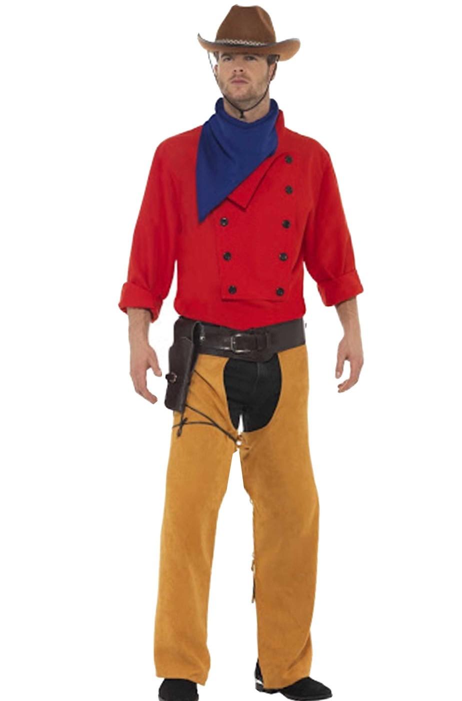 Vestito di carnevale uomo Cowboy Kit Willer