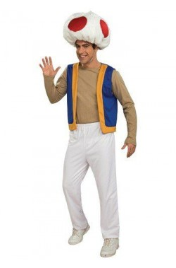 Costume Toad di Supermario bros originale