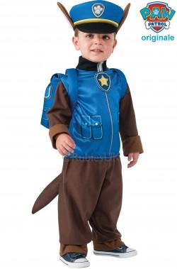 Costume di carnevale da bambino di Paw Patrol Blu Chase