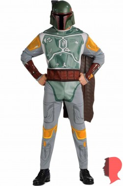 Costume di carnevale Boba Fett Star Wars Cacciatore di taglie